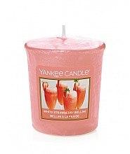 Düfte, Parfümerie und Kosmetik Votivkerze White Strawberry Bellini - Yankee Candle White Strawberry Bellini Votive