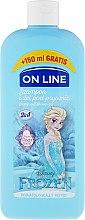 Düfte, Parfümerie und Kosmetik 2in1 Shampoo und Duschgel für Kinder mit Birnenduft Die Eiskönigin - On Line Disney Frozen Shampoo & Body Wash