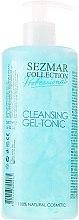 Düfte, Parfümerie und Kosmetik Reinigungsgel-Tonikum für Körper und Gesicht - Hristina Cosmetics Sezmar Professional Cleansing Gel-Tonic