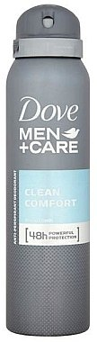 Deospray Antitranspirant - Dove Clean Comfort Men Anti-Perspirant Deodorant — Bild N1