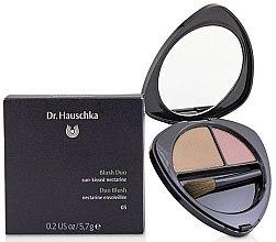 Düfte, Parfümerie und Kosmetik Duo-Gesichtsrouge - Dr. Hauschka Blush Duo