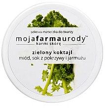 Düfte, Parfümerie und Kosmetik Gesichtsmaske mit Honig, Grünkohl- & Brennesselsaft - Moja Farma Urody