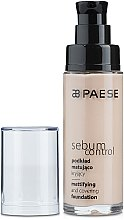 Düfte, Parfümerie und Kosmetik Mattierende Foundation - Paese Sebum Control Mattifying Foundation
