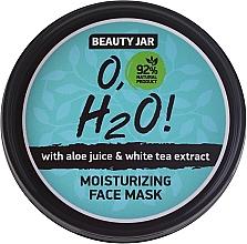 Düfte, Parfümerie und Kosmetik Gesichtsmaske mit Aloe Vera und weissem Tee - Beauty Jar O,H2O Moisturizing Face Mask