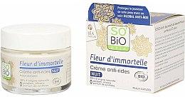 Düfte, Parfümerie und Kosmetik Anti-Aging Nachtcreme gegen Falten - So'Bio Etic Fleur D'immortelle Anti-Wrinkle Night Cream