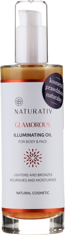Körperöl - Naturativ Glittering Body Oil