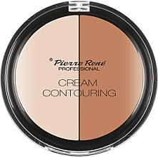 Düfte, Parfümerie und Kosmetik Cremiger Konturpuder Duo - Pierre Rene Cream Contouring