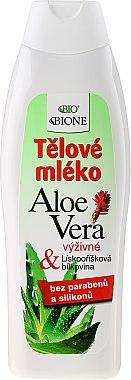 Feuchtigkeitsspendende Körperlotion mit Collagen - Bione Cosmetics Aloe Vera Nourishing Body Lotion With Collagen — Bild N1