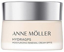 Düfte, Parfümerie und Kosmetik Erneuernde und feuchtigkeitsspendende Gesichtscreme SPF 15 - Anne Moller HydraGPS Moisturizing Renewal Cream SPF15