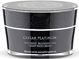 Intensiv regenerierende Nachtcreme - Natura Siberica Caviar Platinum Intensive Rejuvenating Night Face Cream — Bild N1