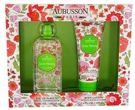 Aubusson Sweet Memory - Duftset (Eau de Parfum 100ml + Körperlotion 100ml) — Bild N1