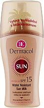 Düfte, Parfümerie und Kosmetik Wasserfeste Sonnenschutzmilch SPF 15 - Dermacol Water Resistant Sun Milk SPF 15