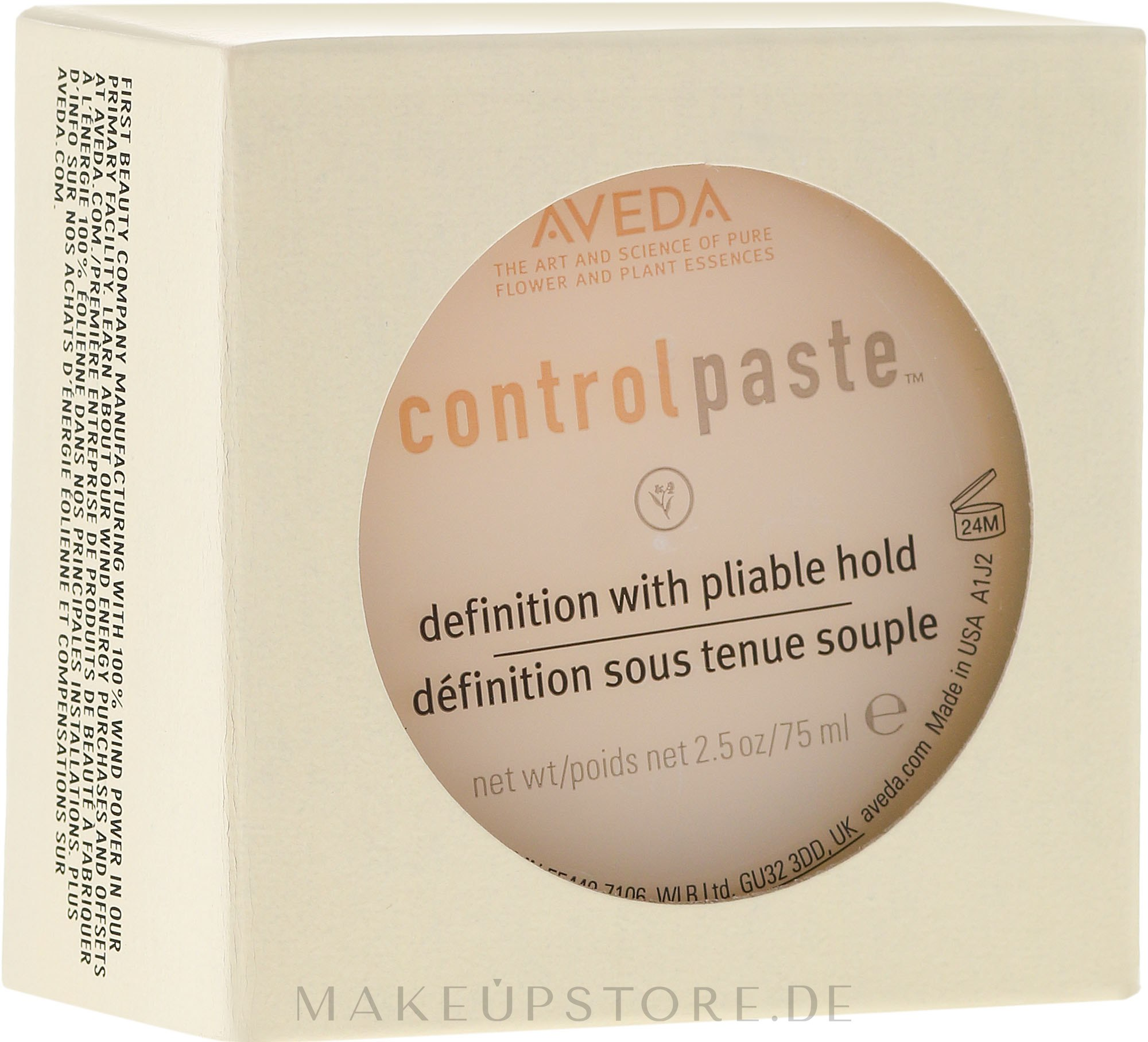Modellierende Haarstyling-Paste - Aveda Control Paste Finishing Paste — Bild 50 ml