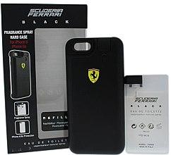 Düfte, Parfümerie und Kosmetik Ferrari Scuderia Ferrari Black - Set (2xEau de Toilette/25ml + Case)