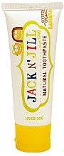 Düfte, Parfümerie und Kosmetik Natürliche Kinderzahnpasta mit Bananengeschmack - Jack N' Jill