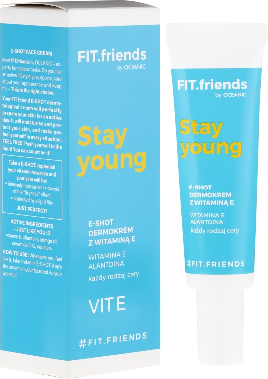 Gesichtscreme mit Vitamin E - AA Fit.Friends Stay Young E-Shot Dermocream — Bild N1