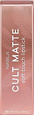 Matter Lippenstift - Nabla Cult Matte Soft Touch Lipstick — Bild N2