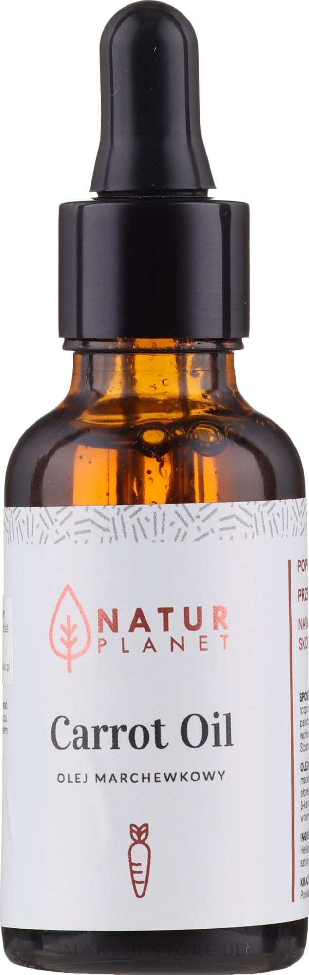 Feuchtigkeitsspendendes und glättendes Karottenöl - Natur Planet Carrot Oil — Bild 30 ml