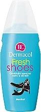 Düfte, Parfümerie und Kosmetik Erfrischendes Fuß- und Schuhspray - Dermacol Fresh Shoes Spray