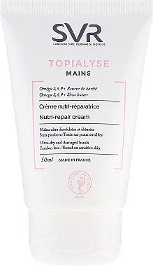 Handcreme - SVR Topialyse Mains Nutri-Repair Cream — Bild N1