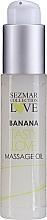 Düfte, Parfümerie und Kosmetik Massageöl Banane - Sezmar Collection Love Banana Tasty Love Massage Oil (Mini)