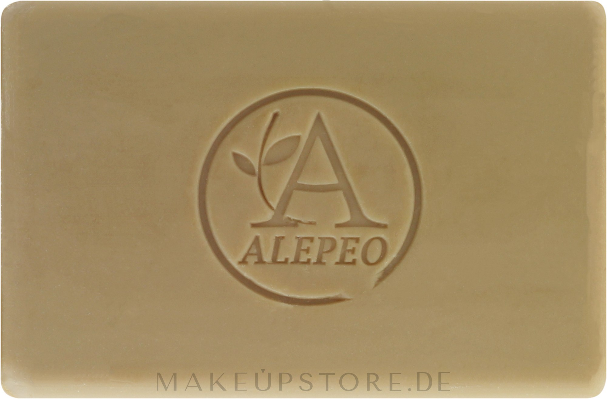 Natürliche Aleppo-Seife mit 4% Lorbeeröl - Alepeo Aleppo Soap Natural 4% — Bild 100 g