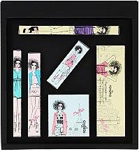 Düfte, Parfümerie und Kosmetik Make-up Set (Augenbrauenstift 0.4g + Lidschatten 8g + Eyeliner 0.8g + Rouge 6g + Mascara 8g + Lippenstift 3.5g) - Roroko Coral Wonder Girl Make-up Box