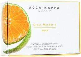 Düfte, Parfümerie und Kosmetik Seife Mandarine - Acca Kappa Green Mandarin Toilet Soap