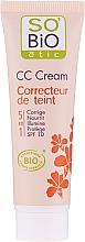 Düfte, Parfümerie und Kosmetik 5in1 Multifunktionale CC Creme LSF 10 - So'Bio Etic CC Cream