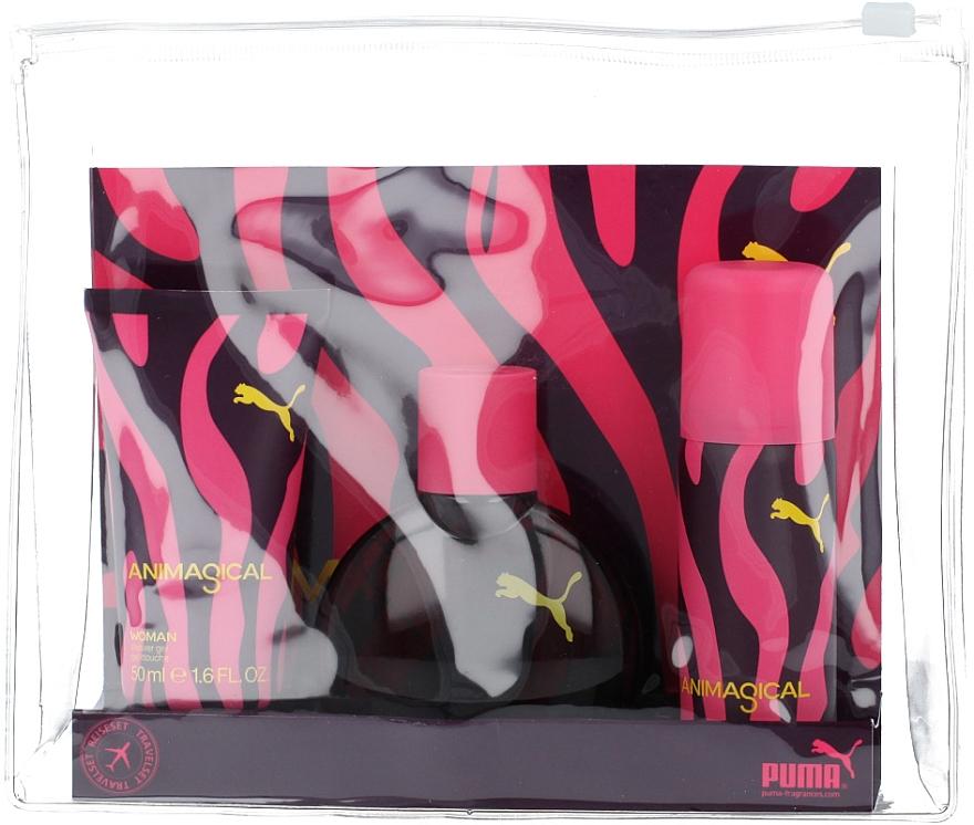 Puma Animagical Woman - Duftset (Eau de Toilette 40ml + Deospray 50ml + Duschgel 50ml) — Bild N1