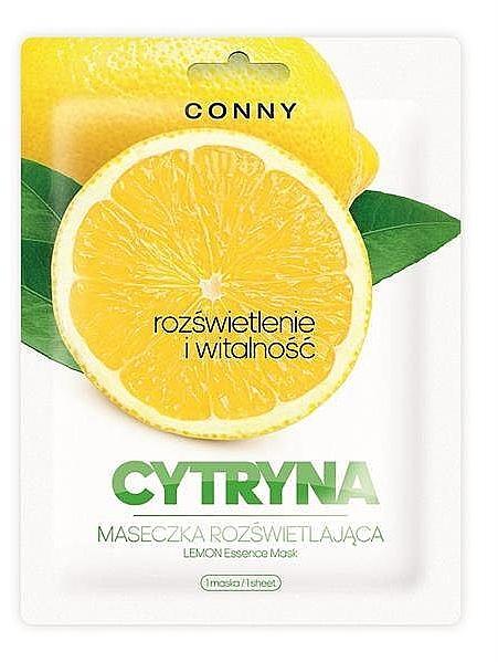 Aufhellende Tuchmaske mit Ginseng und Zitrone - Conny Lemon Essence Mask — Bild N1