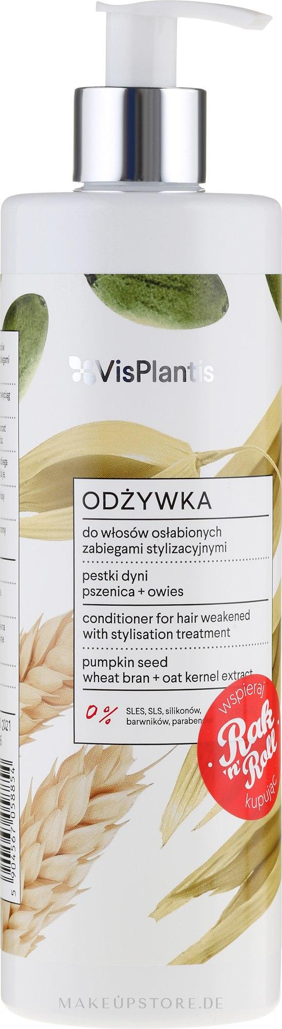Haarspülung mit Kürbiskernöl - Vis Plantis Herbal Vital Care Conditioner Pumpkin Seed — Bild 400 ml