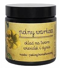 Düfte, Parfümerie und Kosmetik Peelingmaske für das Gesicht mit Kürbis und Nachtkerze - Polny Warkocz