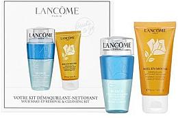Düfte, Parfümerie und Kosmetik Gesichtsset - Lancome Miel En Mousse (Gesichtsreinigungsschaum 50ml + Make-up Entferner 75ml)