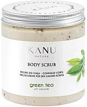 Düfte, Parfümerie und Kosmetik Peelingcreme für den Körper mit grünem Tee und Kamille - Kanu Nature Green Tea Body Scrub