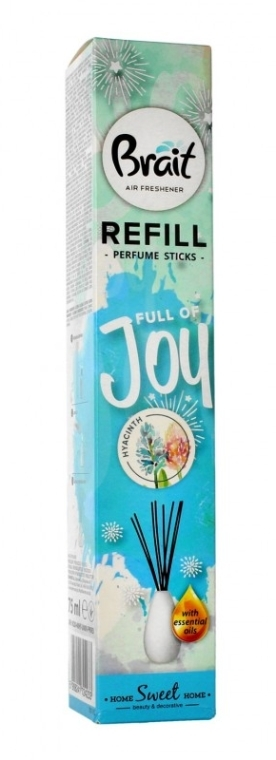 Raumerfrischer Hyazinthe - Brait Home Sweet Home Refreshing Sticks Full of Joy (Refill)