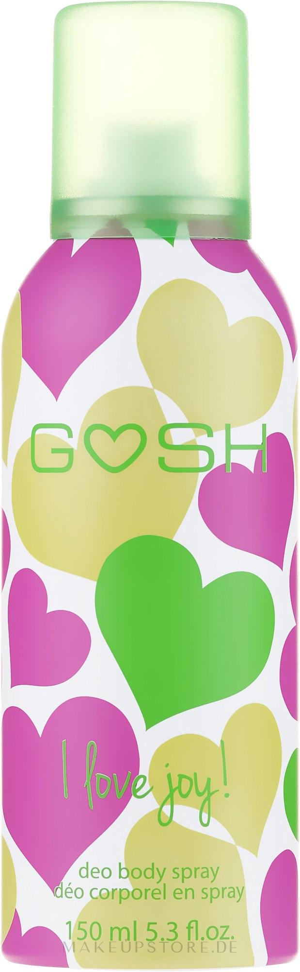 Deospray - Gosh I Love Joy Deo Body Spray — Bild 150 ml