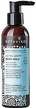 Düfte, Parfümerie und Kosmetik Ultra leichte feuchtigkeitsspendende Körperlotion - Botavikos Ultra Light Body Milk