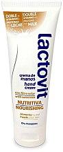 Düfte, Parfümerie und Kosmetik Pflegende Handcreme mit Vitaminen und Michproteinen - Lactovit Original Hand Cream