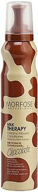Haarspülung mit Milcheiweiß und 12 Aminosäuren - Morfose Milk Therapy Chocolate Creamy Mousse Conditioner — Bild N1