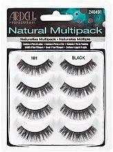 Düfte, Parfümerie und Kosmetik Künstliche Wimpern - Ardell Natural Multipack Black 101