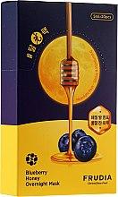 Düfte, Parfümerie und Kosmetik Nährende Nachtmaske für Gesicht mit Blaubeere und Honig - Frudia Blueberry Honey Overnight Mask