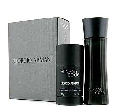 Düfte, Parfümerie und Kosmetik Giorgio Armani Armani Code - Duftset (Eau de Toilette/75ml + Deodorant/75ml)