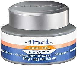 LED/UV Aufbaugel transparent - IBD French Xtreme Clear Gel — Bild N2
