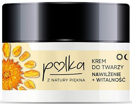 Feuchtigkeitsspendende Gesichtscreme mit Bernsteinextrakt - Polka Face Cream — Bild N1