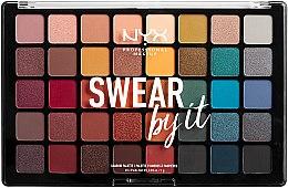 Düfte, Parfümerie und Kosmetik Lidschattenpalette - NYX Professional Makeup Swear By It Shadow Palette