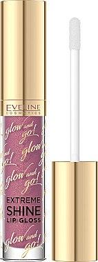 Lipgloss - Eveline Cosmetics Glow & Go Extreme Shine Lip Gloss — Bild N1