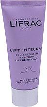 Düfte, Parfümerie und Kosmetik Lifting-Gelcreme mit Anti-Aging-Wirkung für Hals und Dekolleté - Lierac Lift Integral Neck & Decollete Sculpting Lift Cream-Gel