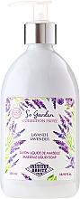 """Düfte, Parfümerie und Kosmetik Flüssigseife """"Lavendel"""" - Institut Karite So Garden Collection Privee Lavender Marseille Liquid Soap"""