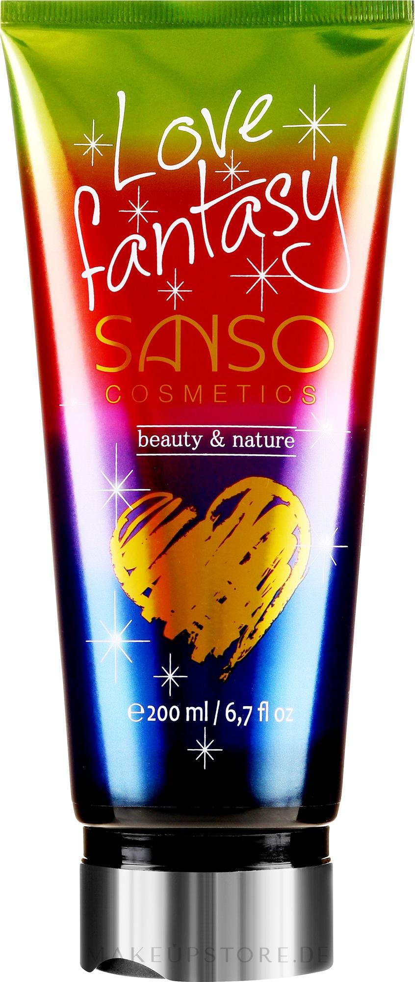Parfümierter Körperbalsam Love Fantasy - Sanso Cosmetics Love Fantasy Body Balm — Bild 200 ml